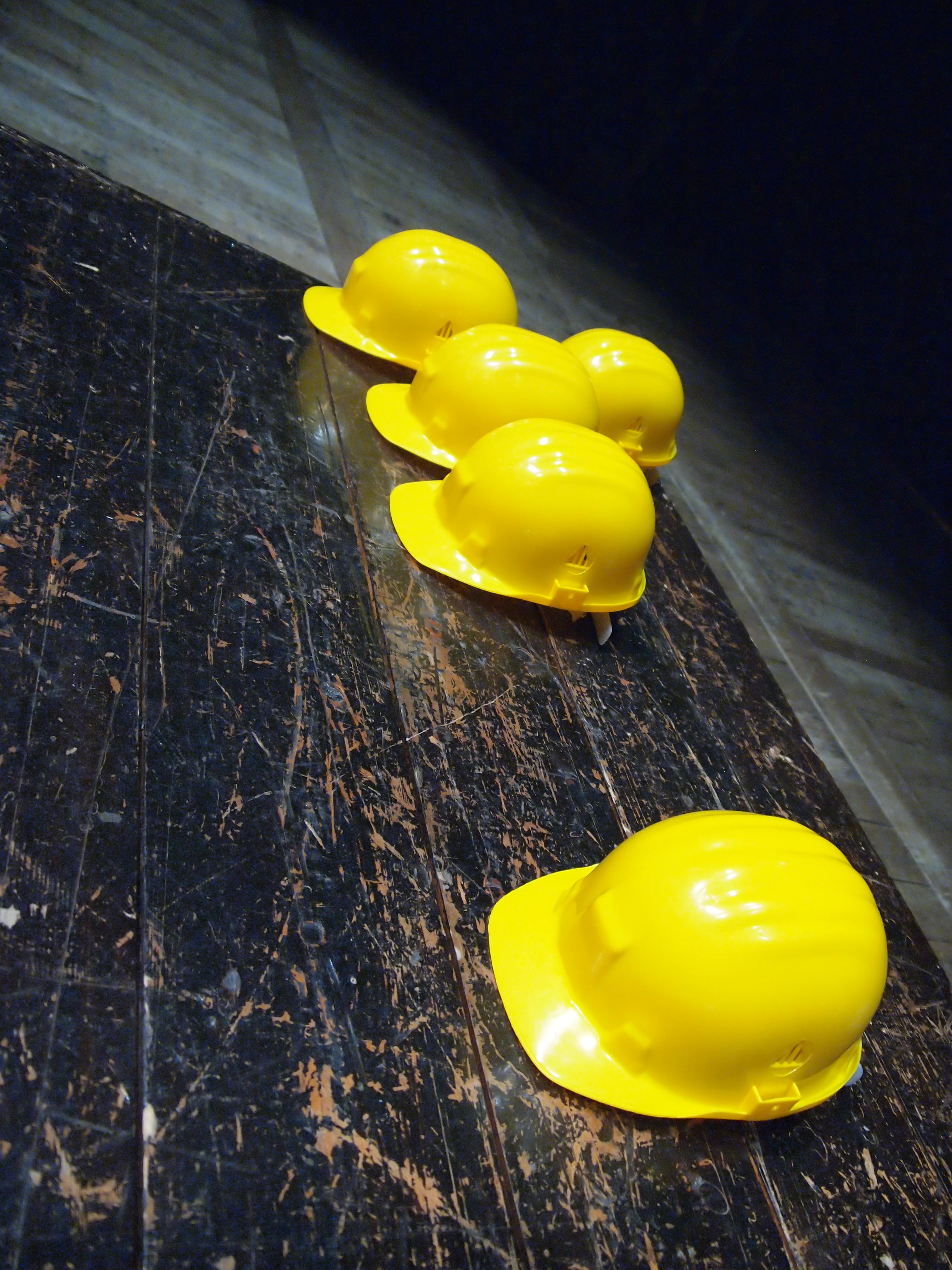 GeoCorr Pipeline Project Costs Increase Image of Yellow Construction Hats on Ground